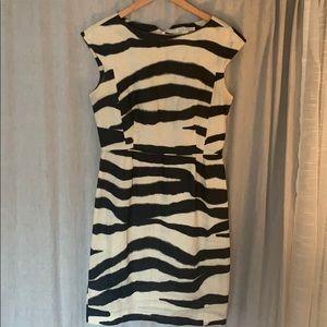 Banana Republic Dress Zebra Print